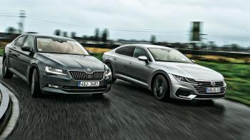 VW Arteon 2.0 TSI 4Motion vs Skoda Superb 2.0 TSI 4x4
