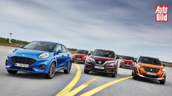 Puma vs Crossland X vs Juke vs Kona vs 2008